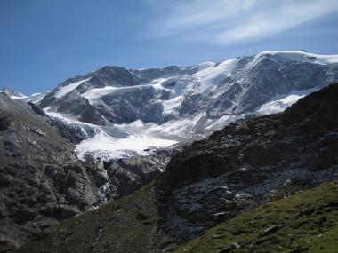 Rakousko - ledovec Pitztal