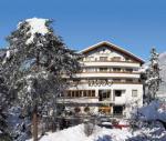 Rakouský hotel Arzlerhof v zimě